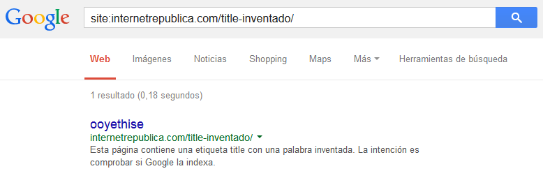 Title inventado (indexada)