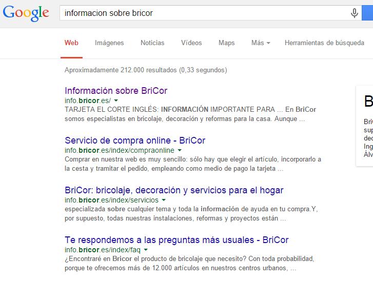 ejemplo indexación etiqueta Google Tag Manager