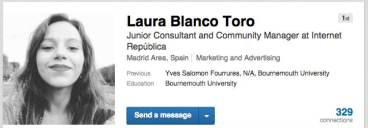Resumen perfil LinkedIn