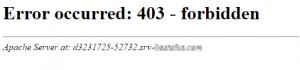 error 403 bloqueo robots