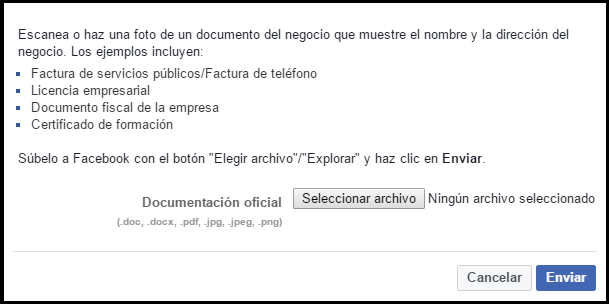 reclamar por documentos