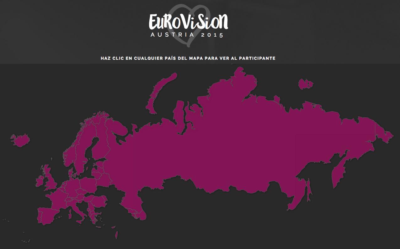 Eurovisión infografía