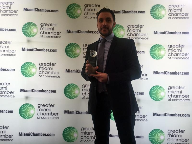 Ismael El-Qudsi - SocialPubli.com Premio new business Miami