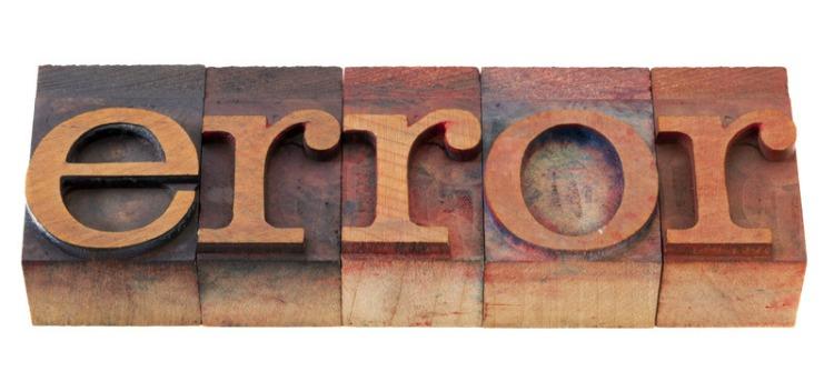 cinco errores contenidos duplicados