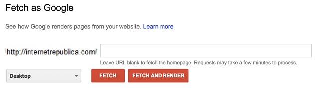 Fetch as Google (2)