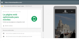 herramienta Mobile auditoría SEO