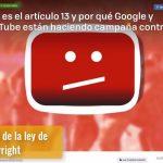 YouTube Artículo 13 ¿Qué es esta ley de materia de derechos de autor?