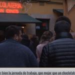 Chocolatería San Ginés   Pasadizo de San Ginés en Madrid