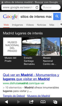 Knowledge Graph movil